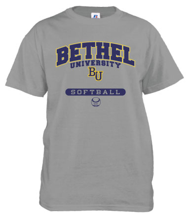 Bethel Softball T-Shirt by Russell