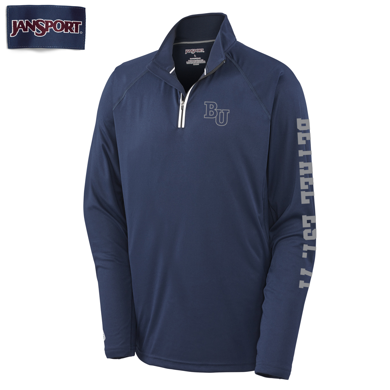 Jansport Navy ¼ Zip Pullover
