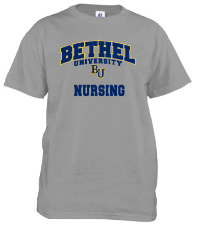 Image For Bethel Nursing T-Shirt by Russell