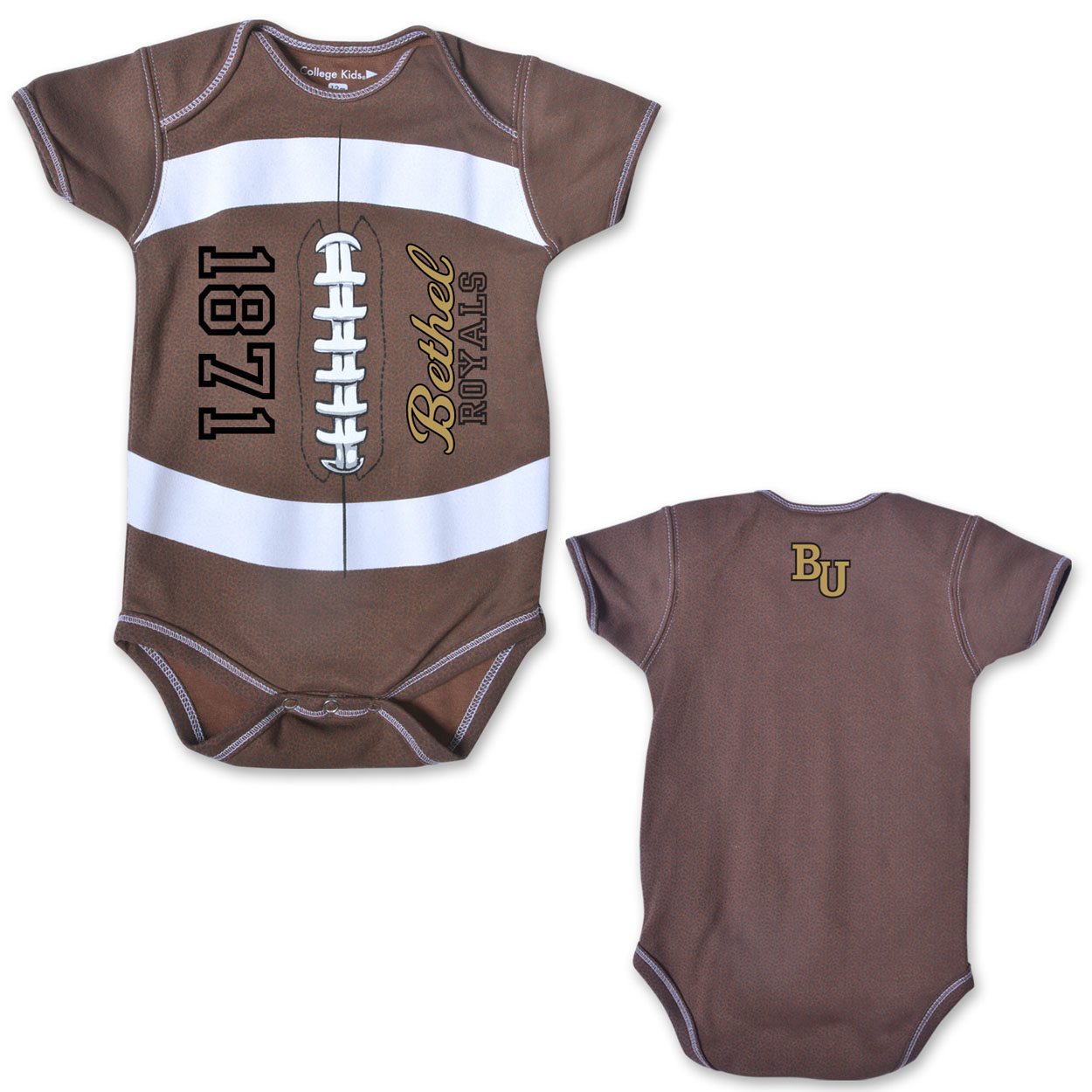 Image For Infant Football Onesie