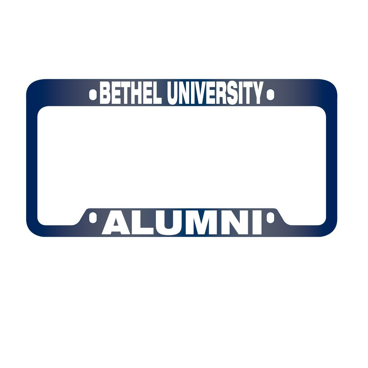 Image For Alumni License Plate Frame