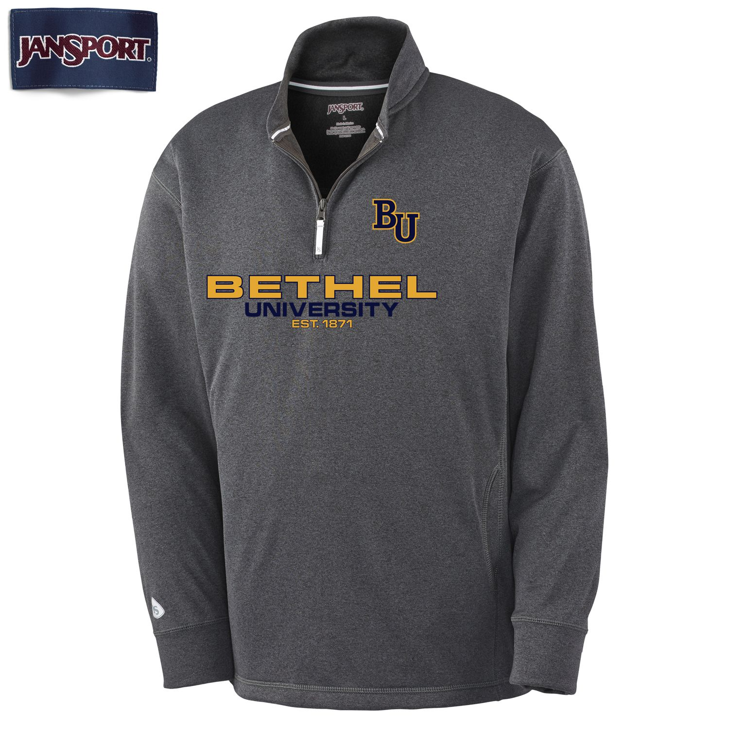 Image For Dark Gray Quarter Zip