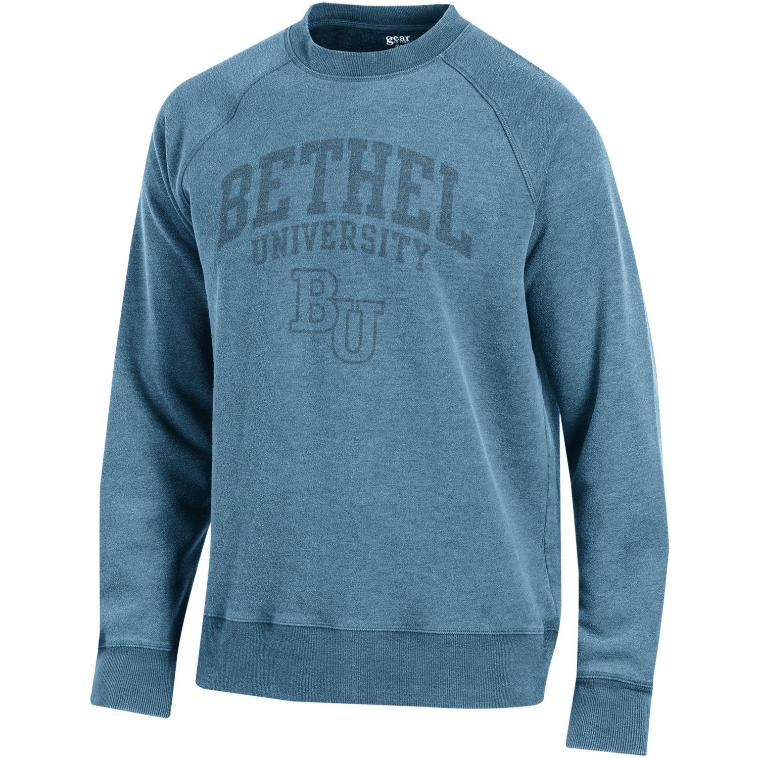 Image For Blue Crew Neck Sweatshirt