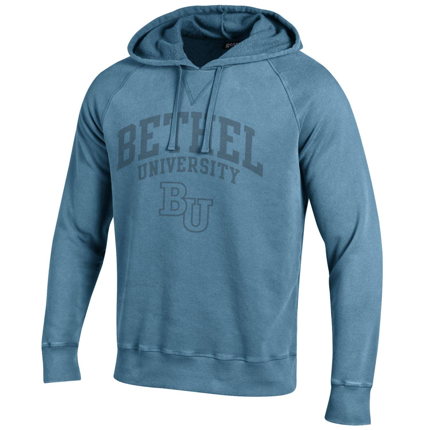 Image For Blue Hooded Sweatshirt