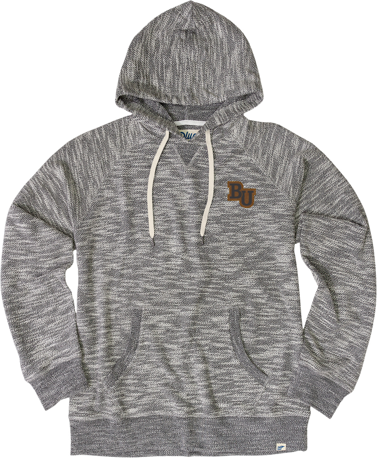 Image For Heathered Pullover Hood