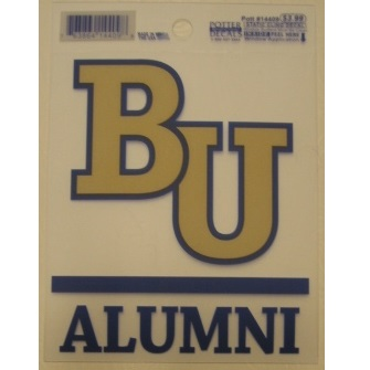Image For Bethel University Alumni Window Cling